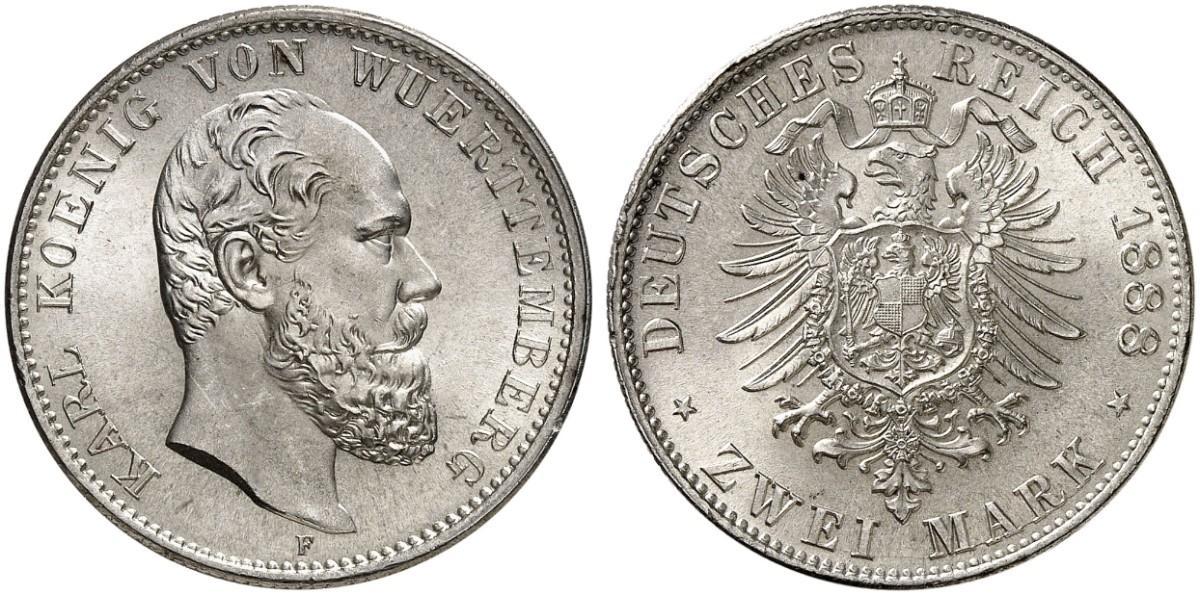 DE 2 Mark 1888 F