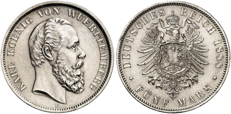 DE 5 Mark 1888 F
