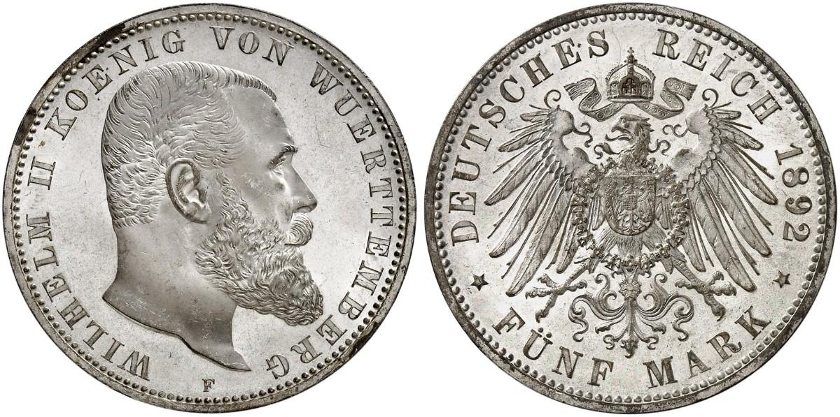 DE 5 Mark 1892 F