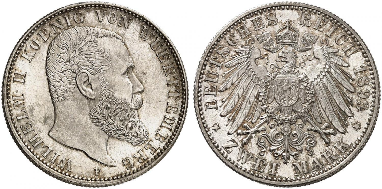 DE 2 Mark 1893 F
