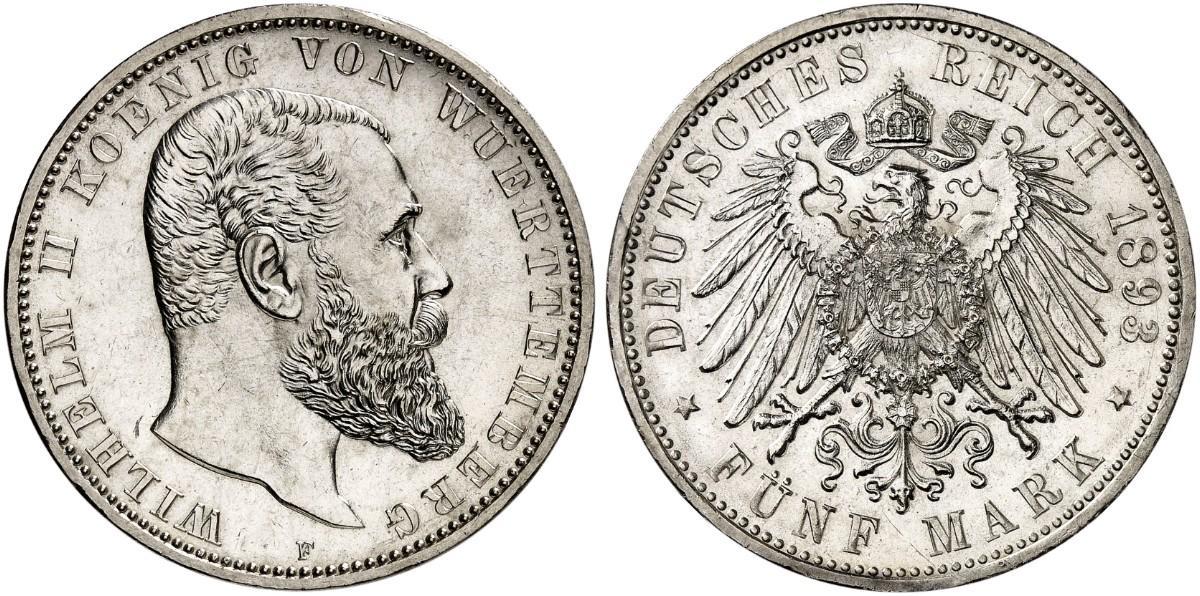 DE 5 Mark 1893 F
