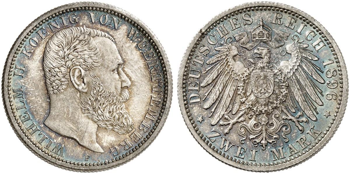 DE 2 Mark 1896 F