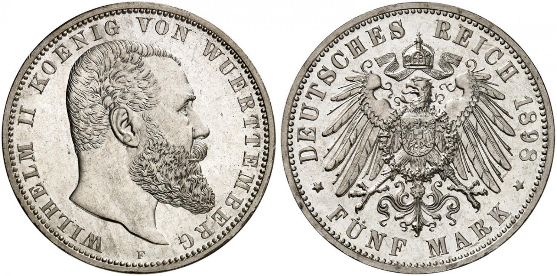 DE 5 Mark 1898 F
