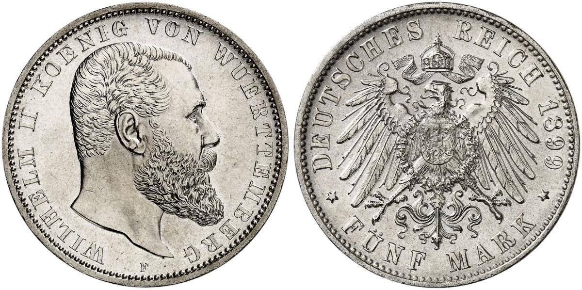 DE 5 Mark 1899 F