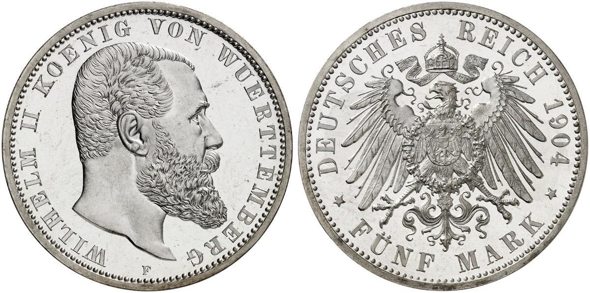 DE 5 Mark 1904 F