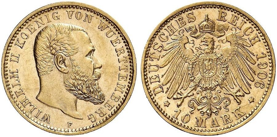 DE 10 Mark 1906 F