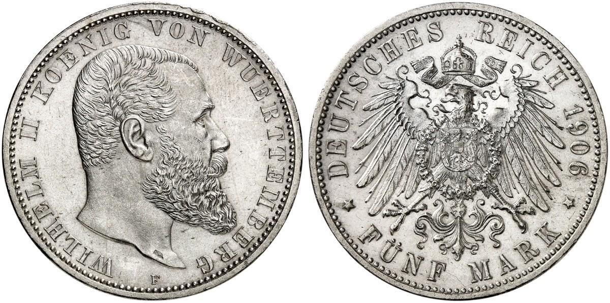 DE 5 Mark 1906 F