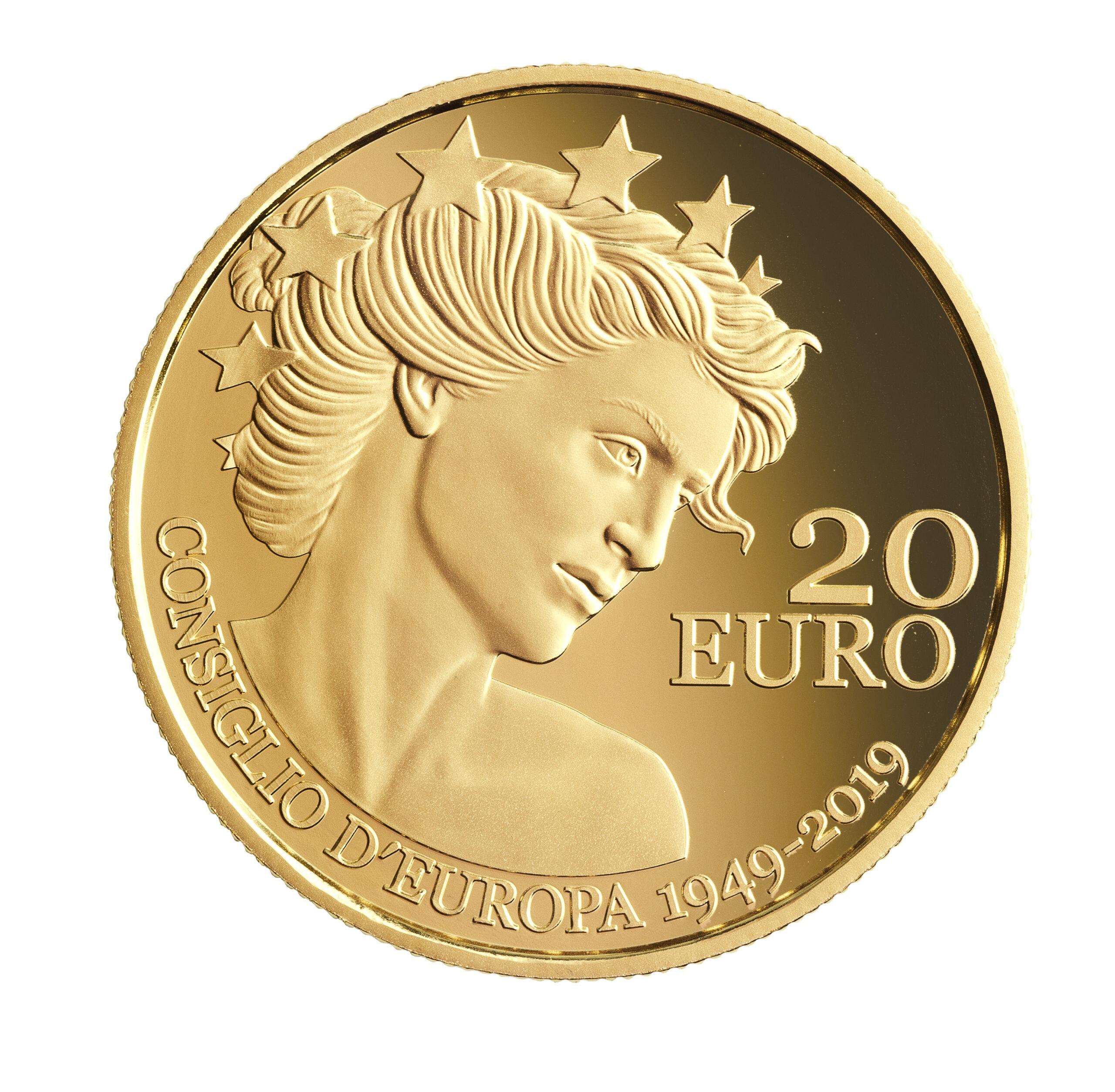 SM 20 Euro 2019 No mintmark