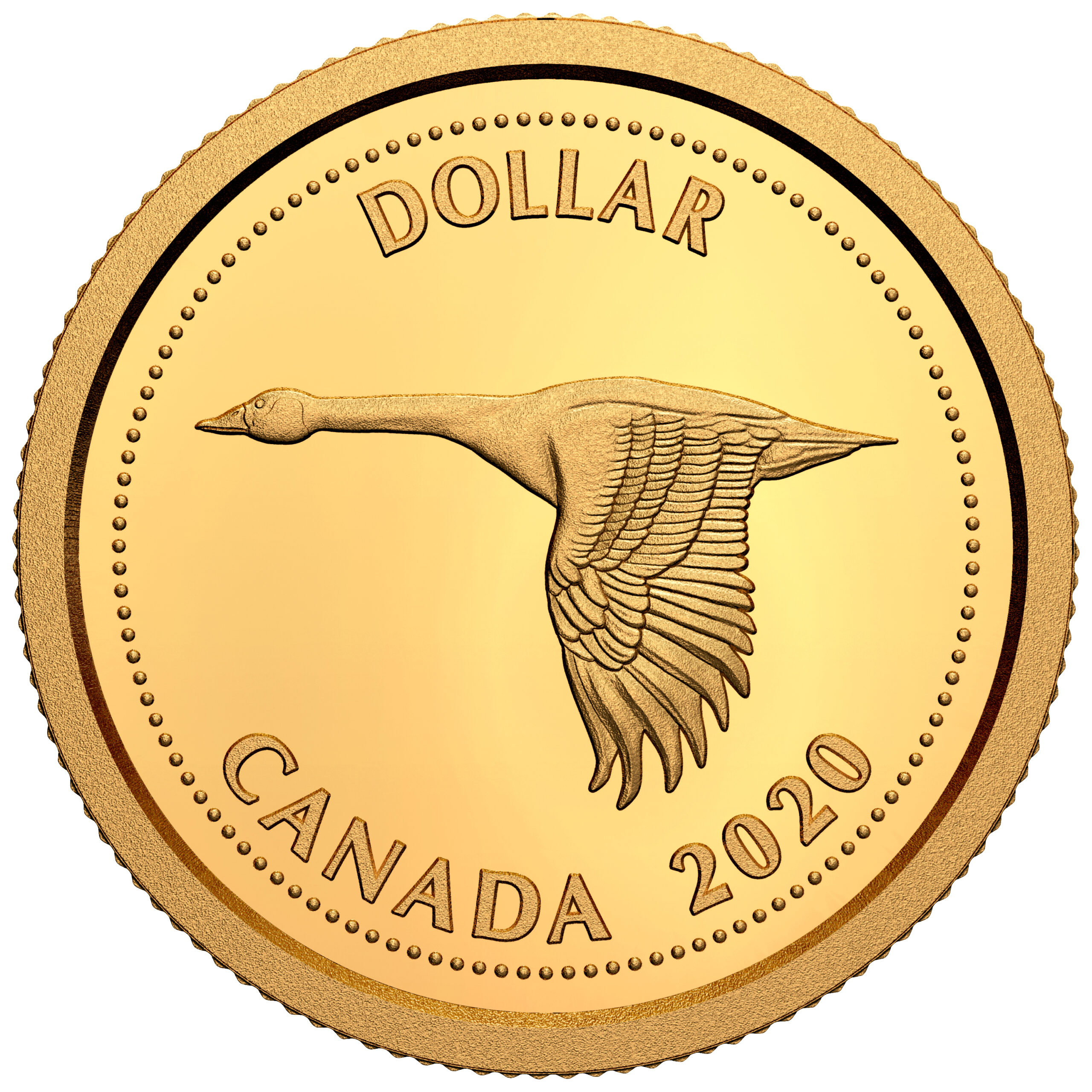 CA 1 Dollar 2020