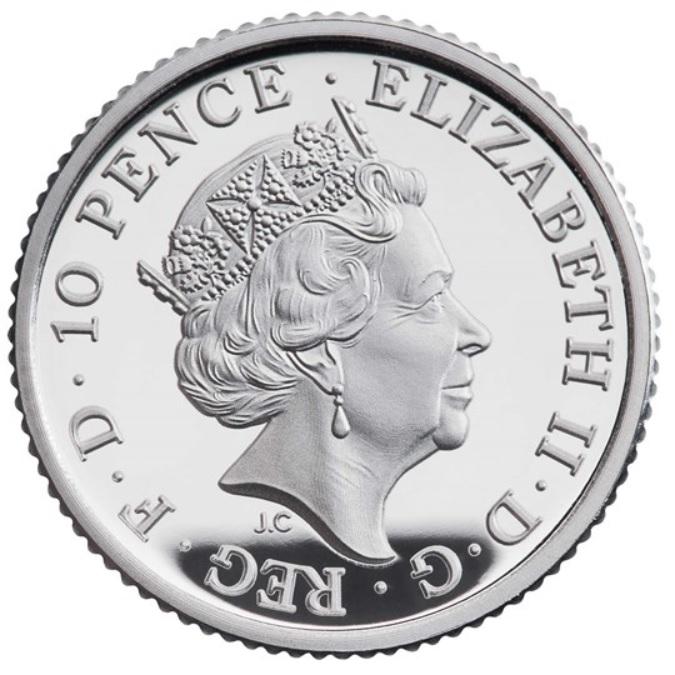 GB 10 Pence 2020