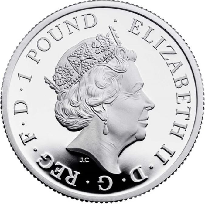 GB 1 Pound 2020