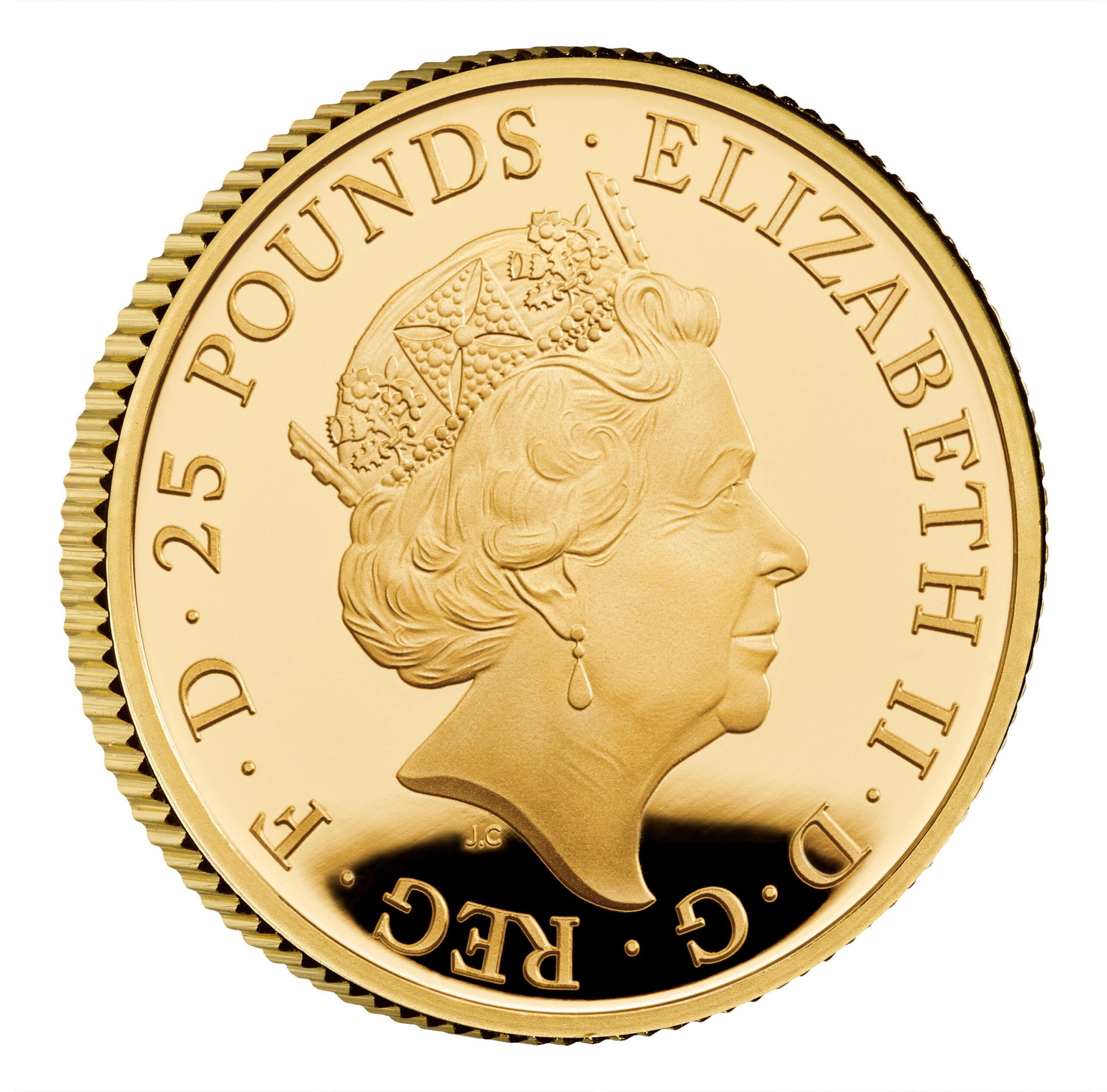 GB 25 Pound 2020