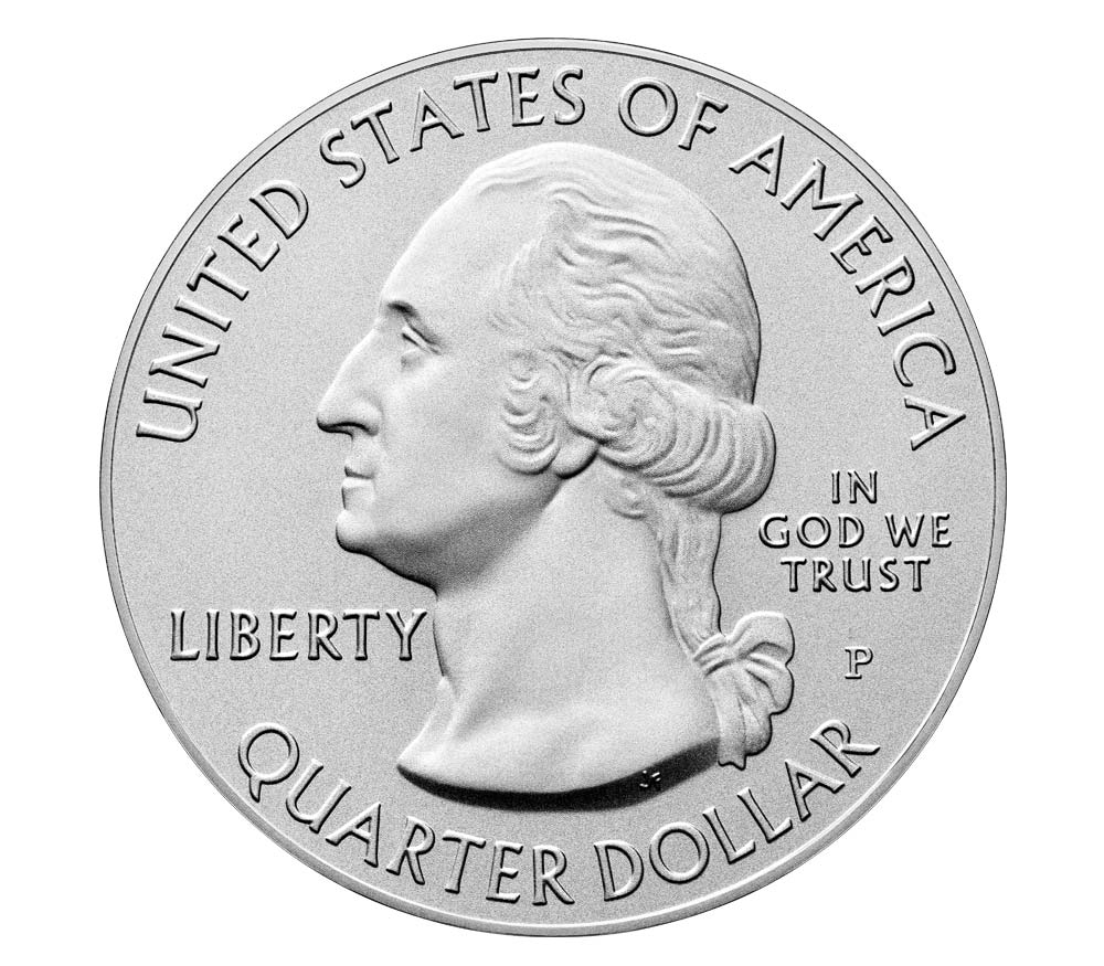 US Quarter Dollar 2020 P (Philadelphia)