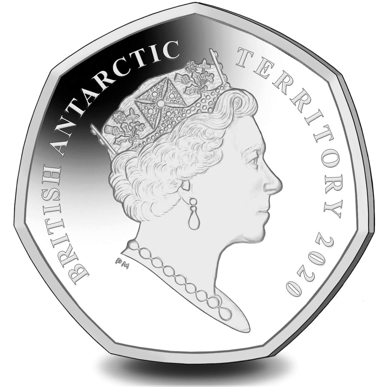 AQ 50 Pence 2020 PM