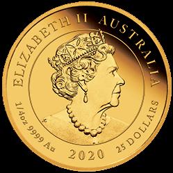 AU 25 Dollars 2020 P
