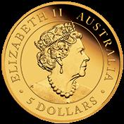 AU 5 Dollars 2020 P