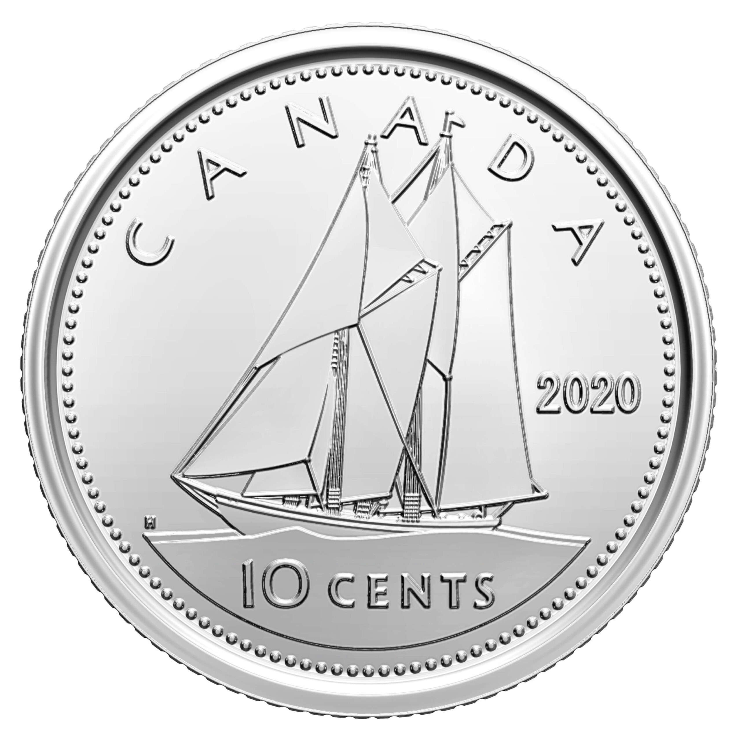 CA 10 Cents 2020