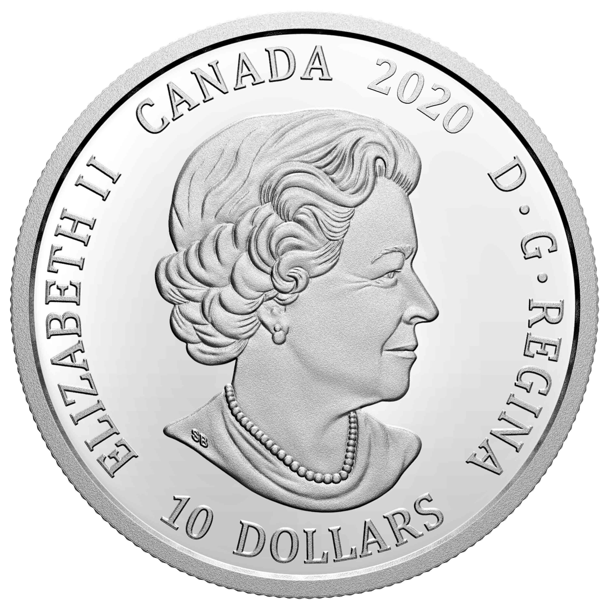 CA 10 Dollars 2020
