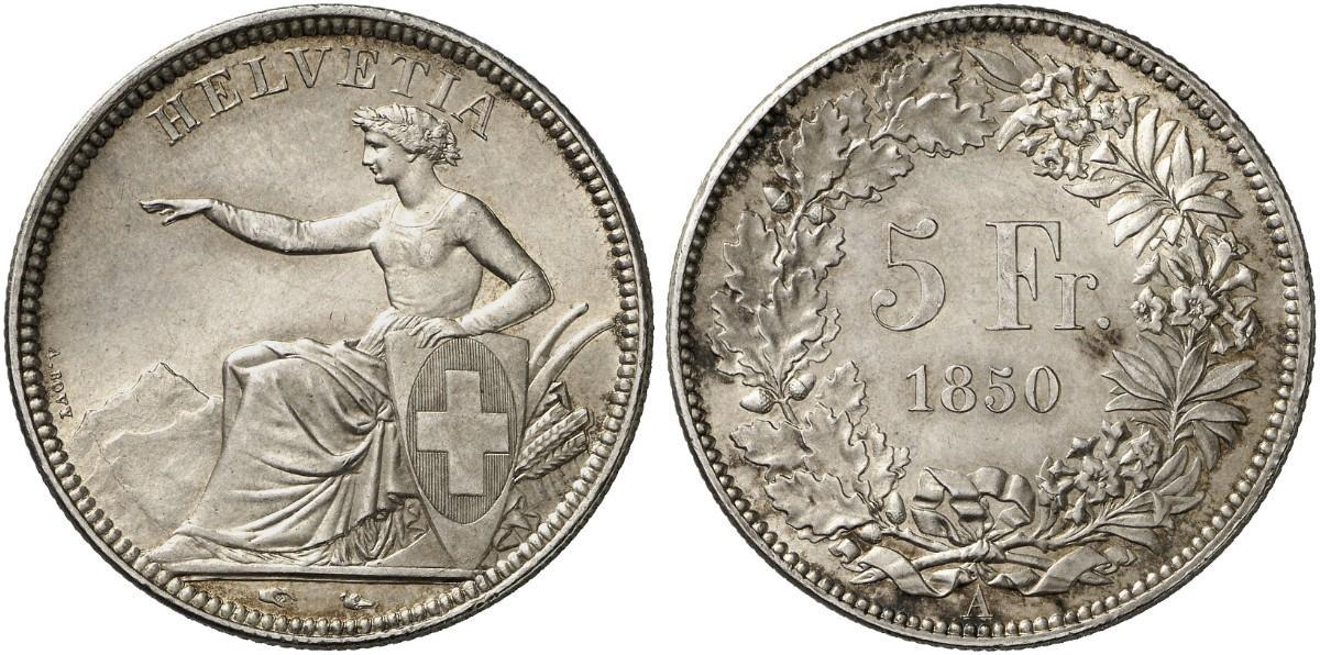 CH 5 Franken 1850 A