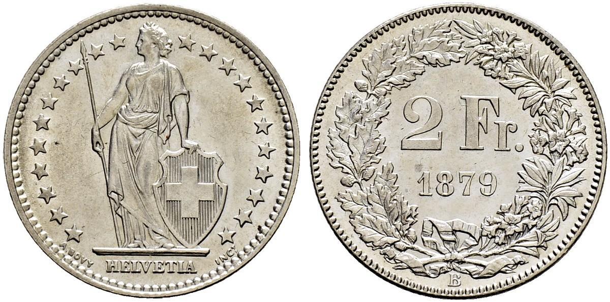 CH 2 Franken 1879 B