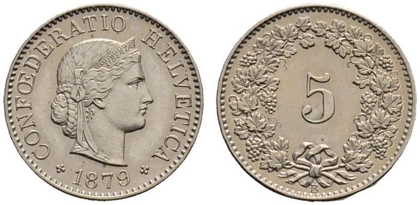 CH 5 Rappen 1879 B