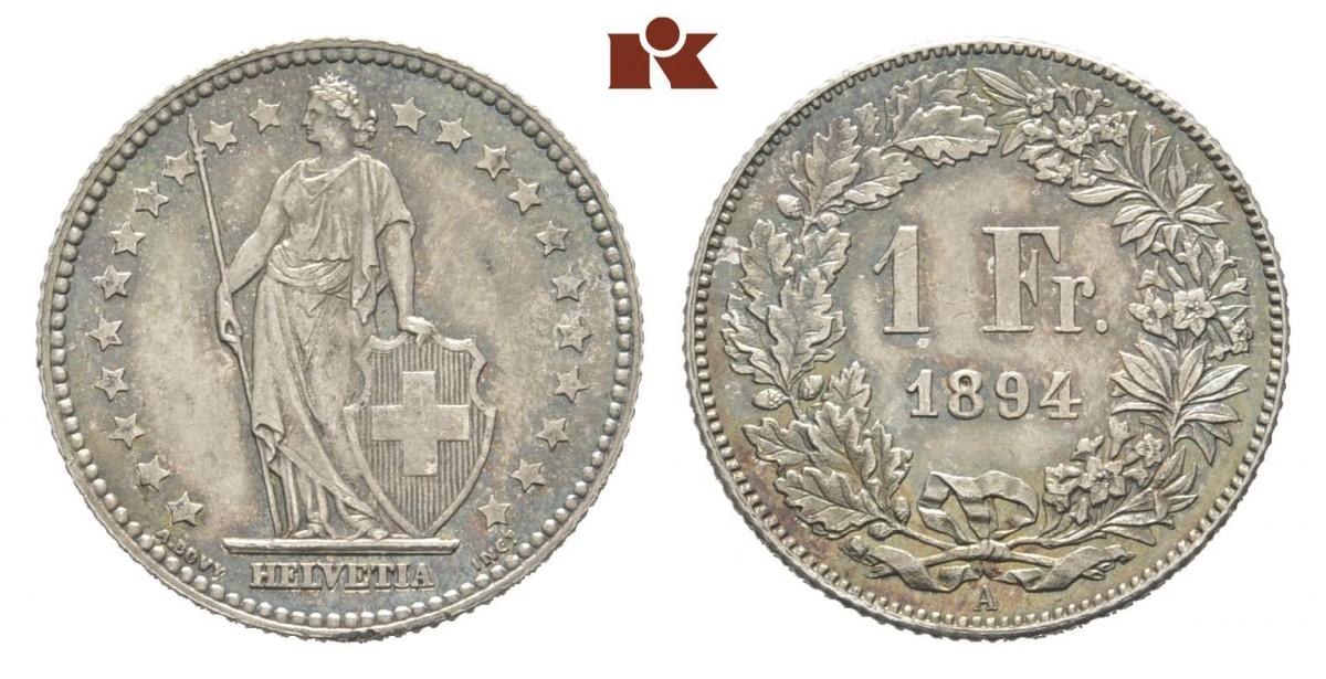 CH 1 Franken 1894 A