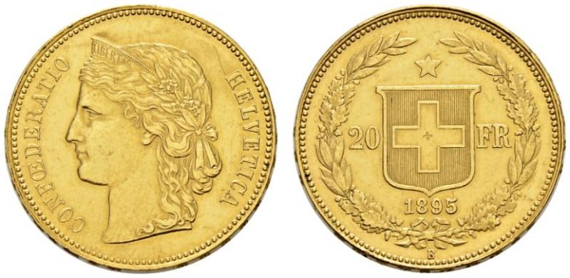 CH 20 Franken 1895 B