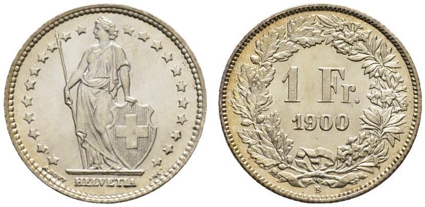 CH 1 Franken 1900 B