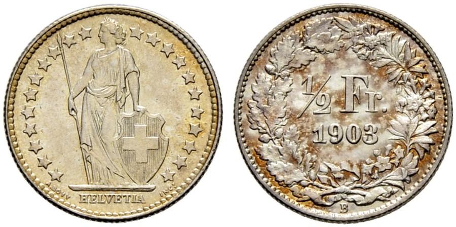 CH 1/2 Franken 1903 B