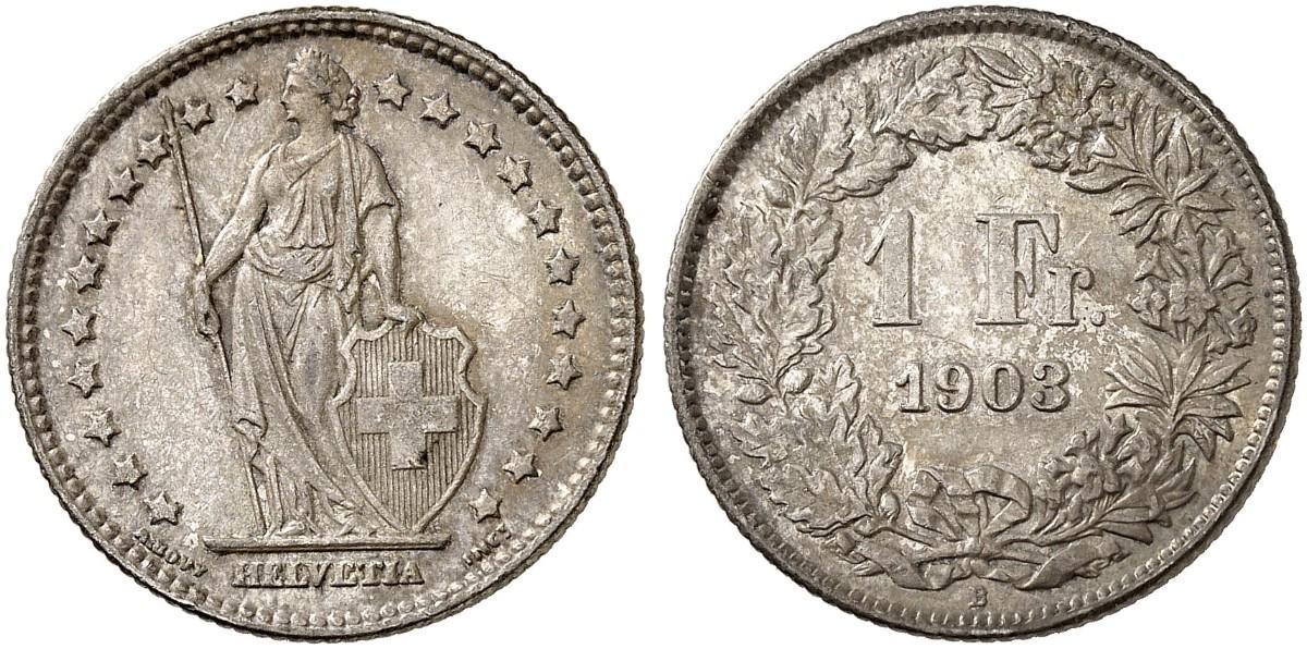 CH 1 Franken 1903 B