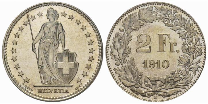 CH 2 Franken 1910 B