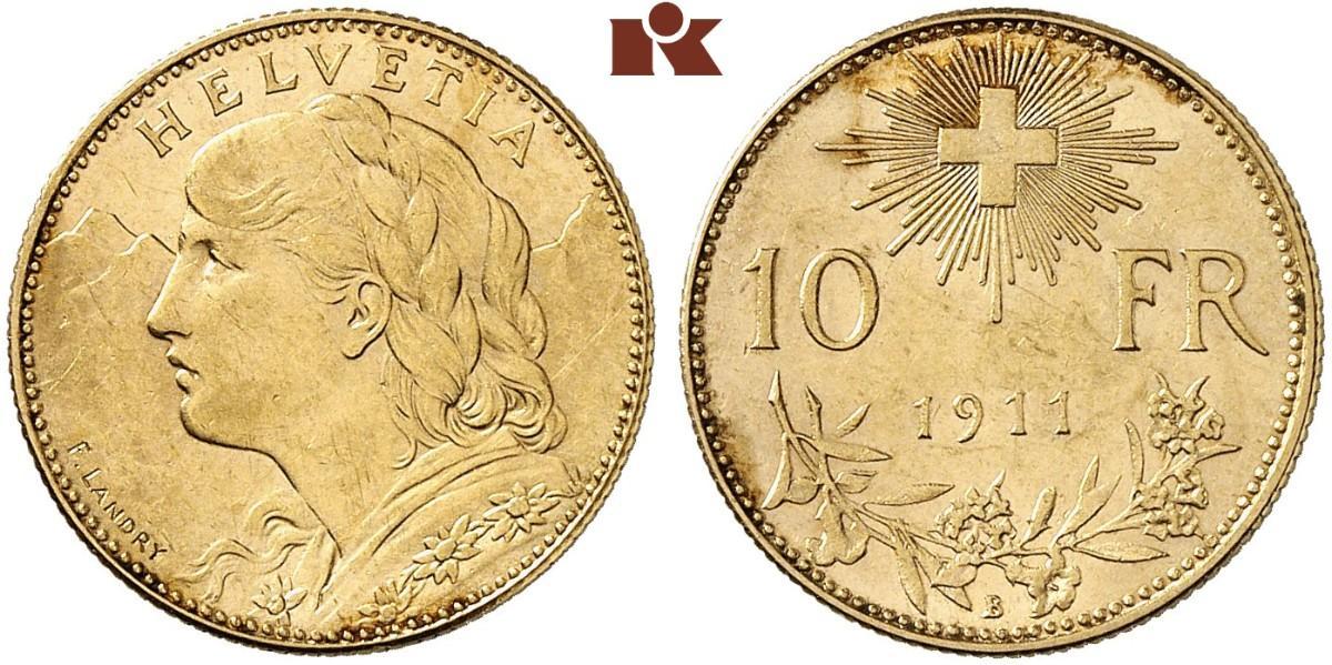 CH 10 Franken 1911 B