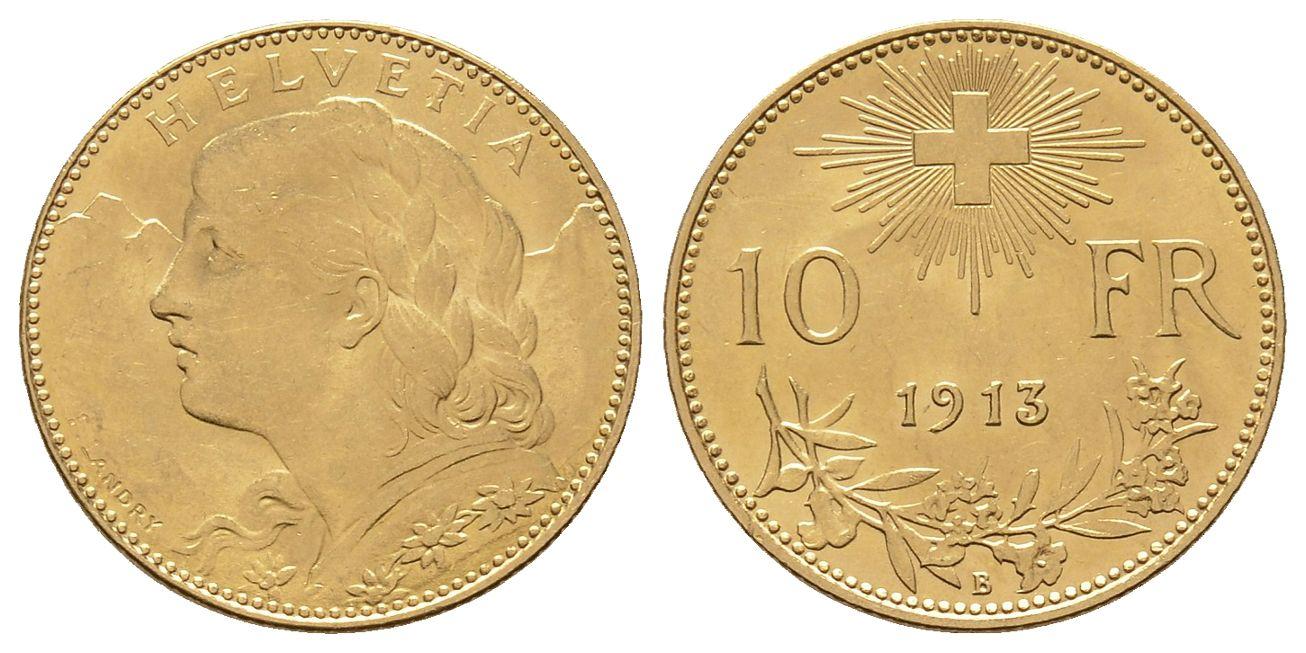CH 10 Franken 1913 B