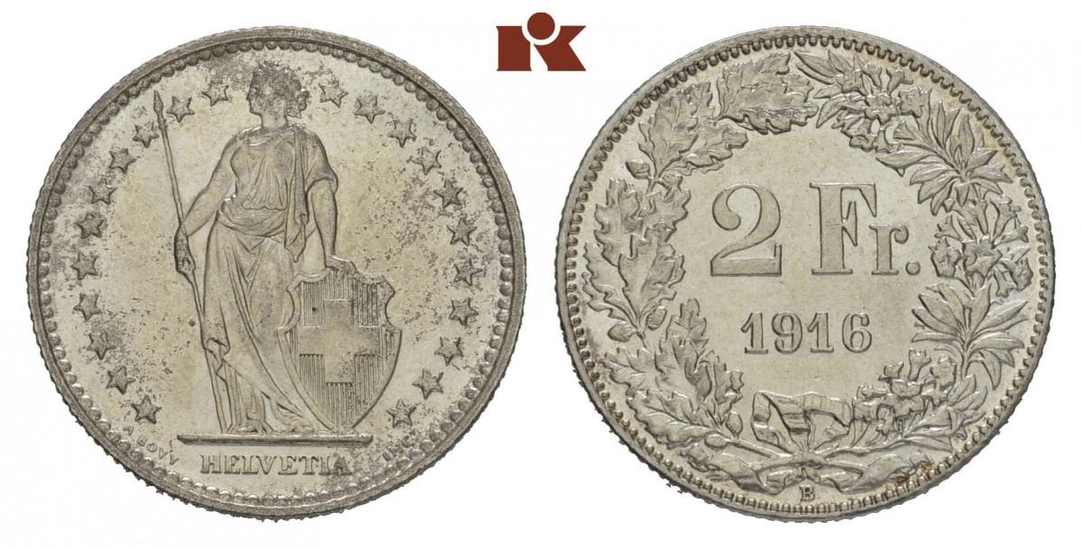 CH 2 Franken 1916 B