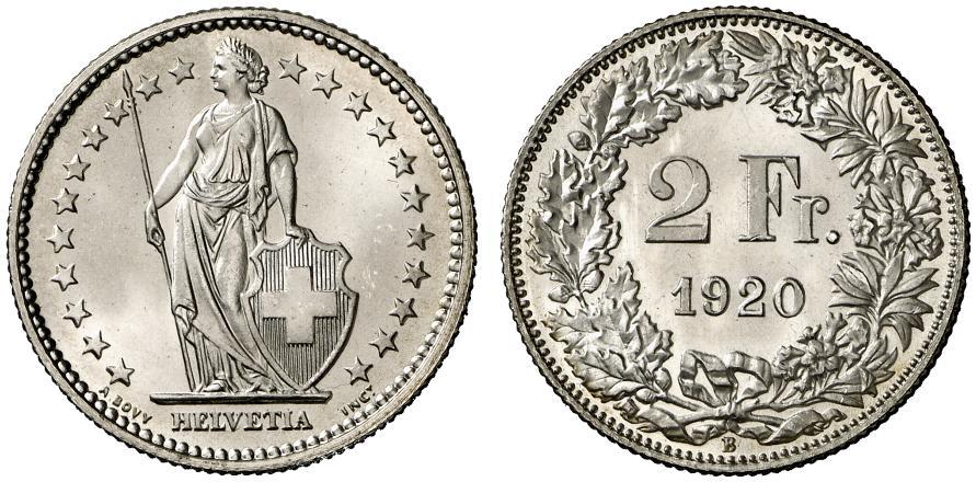 CH 2 Franken 1920 B