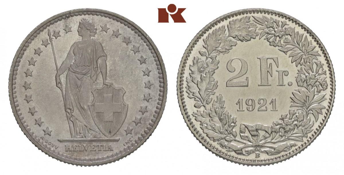 CH 2 Franken 1921 B