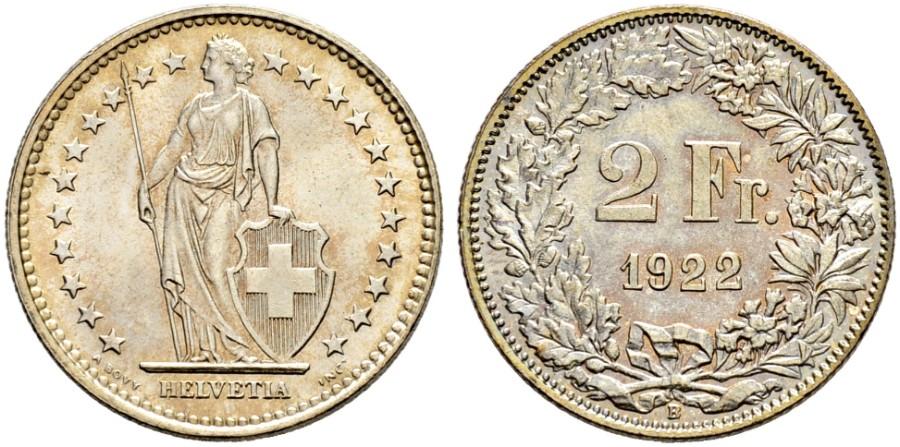 CH 2 Franken 1922 B