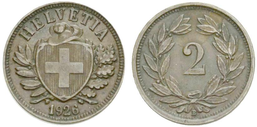 CH 2 Rappen 1926 B