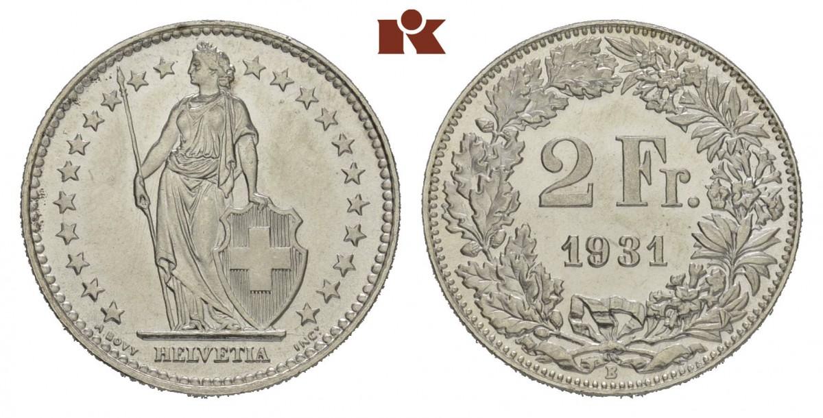 CH 2 Franken 1931 B