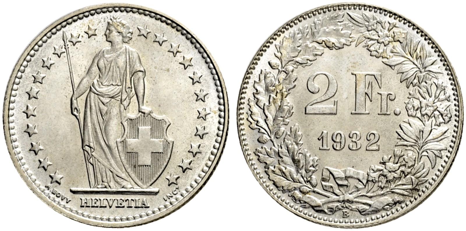 CH 2 Franken 1932 B