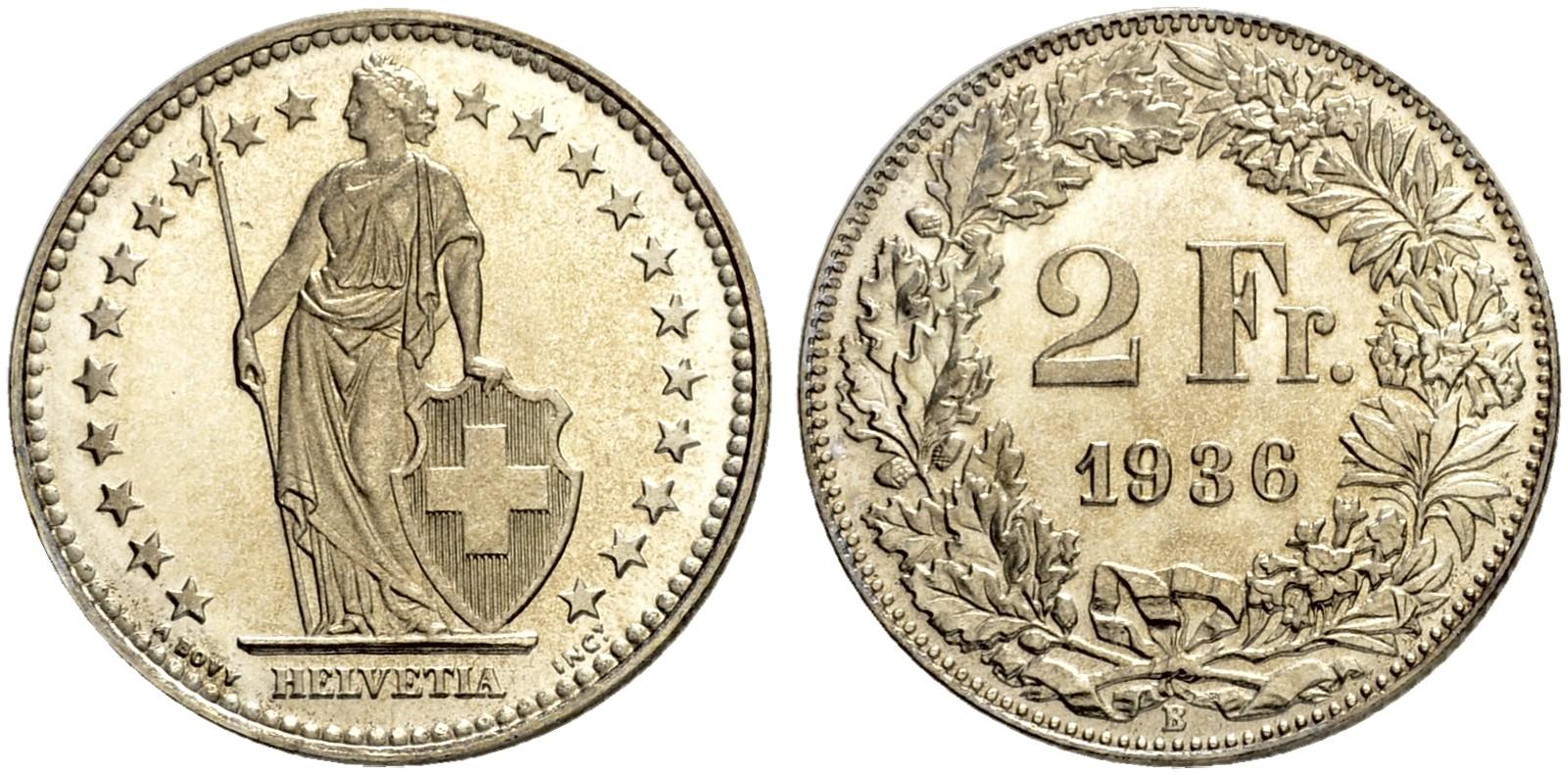 CH 2 Franken 1936 B