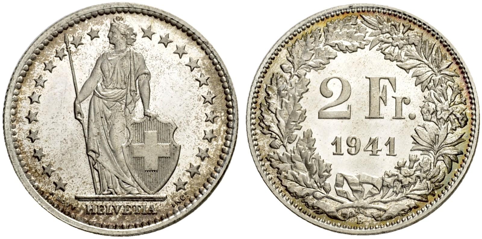 CH 2 Franken 1941 B