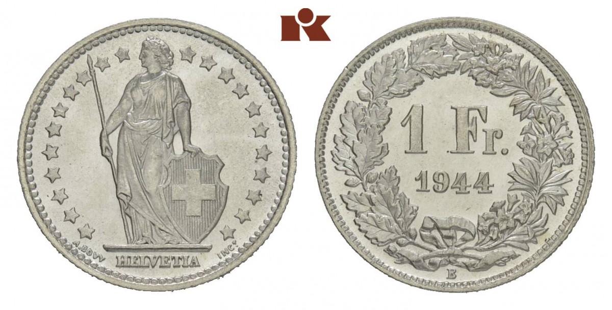 CH 1 Franken 1944 B