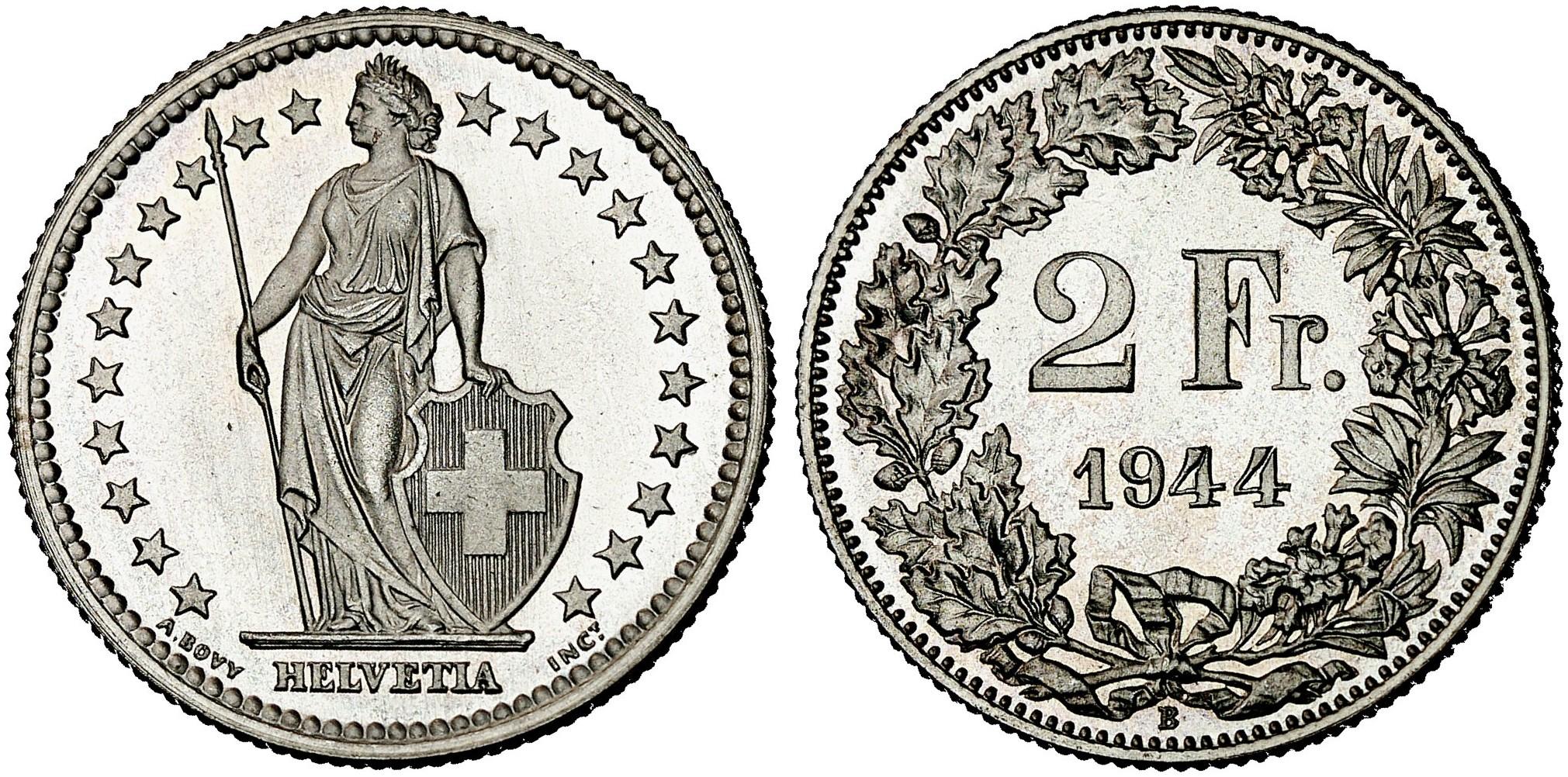 CH 2 Franken 1944 B
