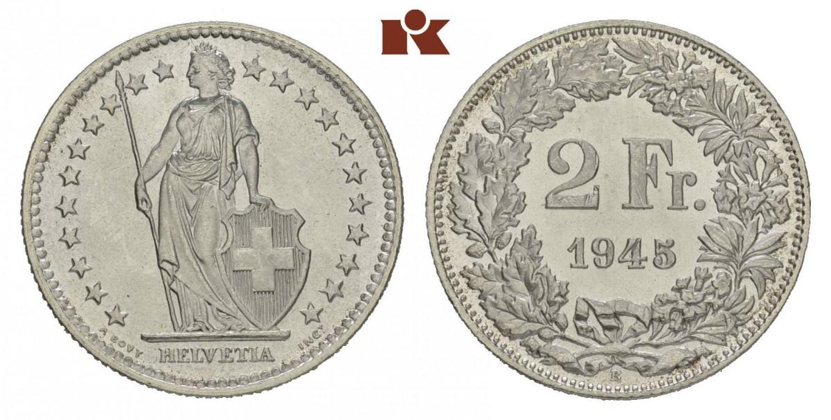 CH 2 Franken 1945 B