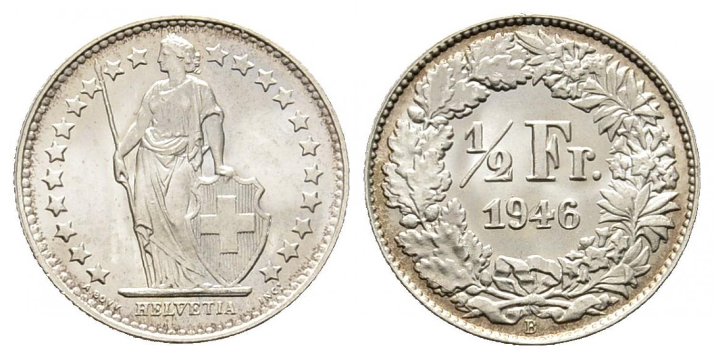 CH 1/2 Franken 1946 B