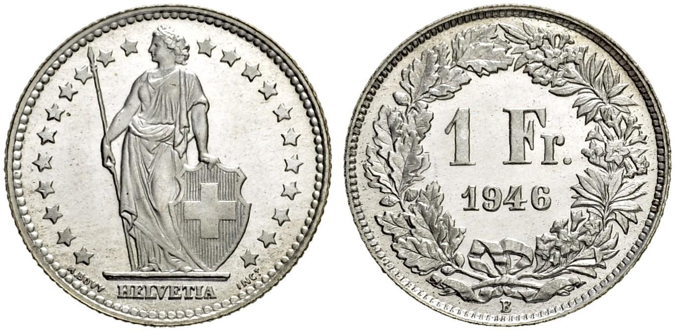 CH 1 Franken 1946 B