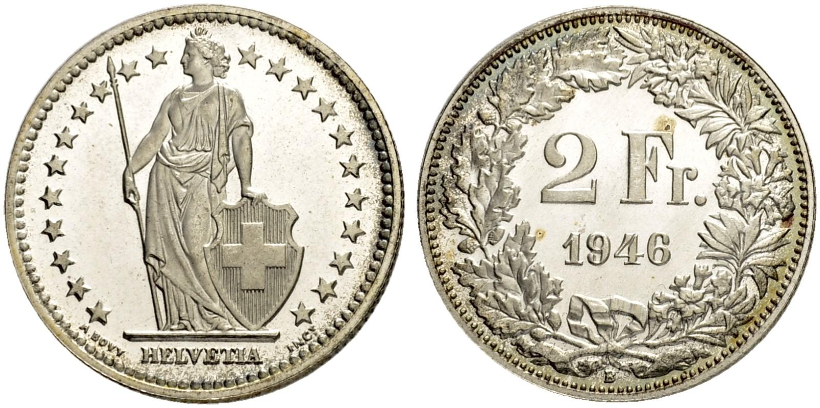 CH 2 Franken 1946 B