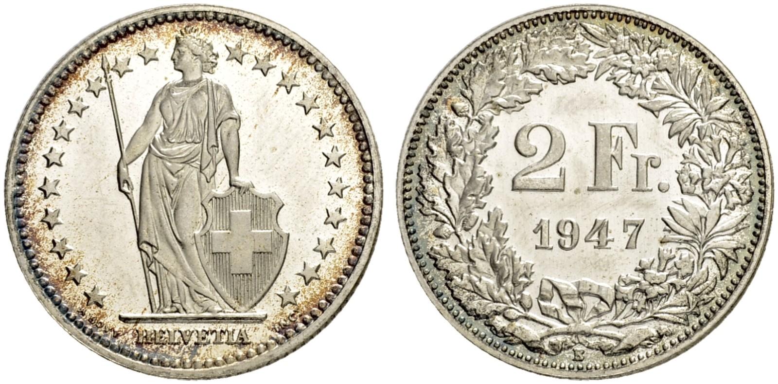 CH 2 Franken 1947 B