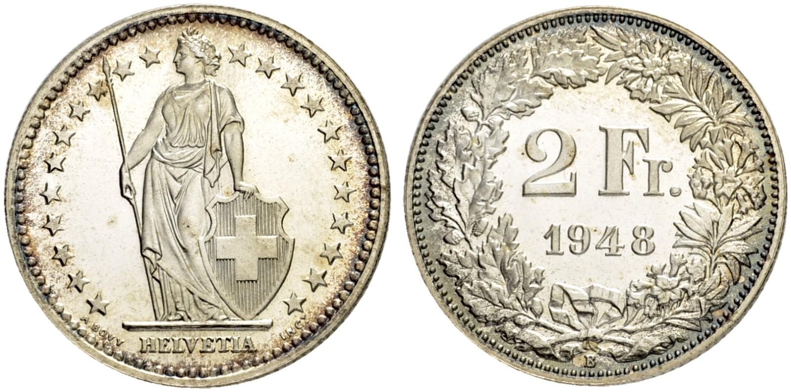CH 2 Franken 1948 B